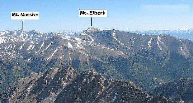 Mt. Massive and Mt. Elbert