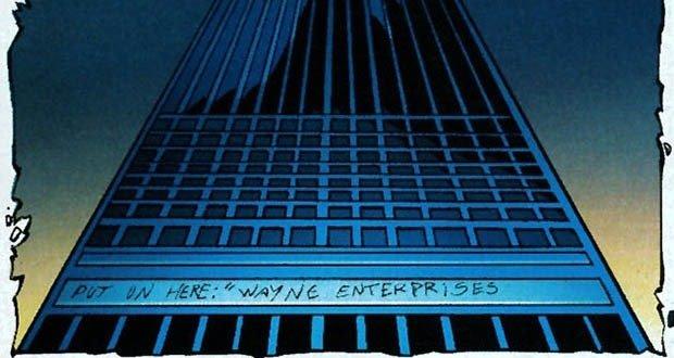 Put in Here Wayne Enterprises