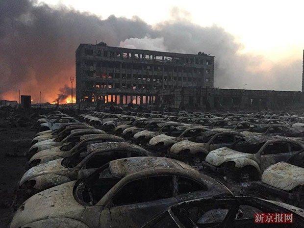 Taijin Explosion