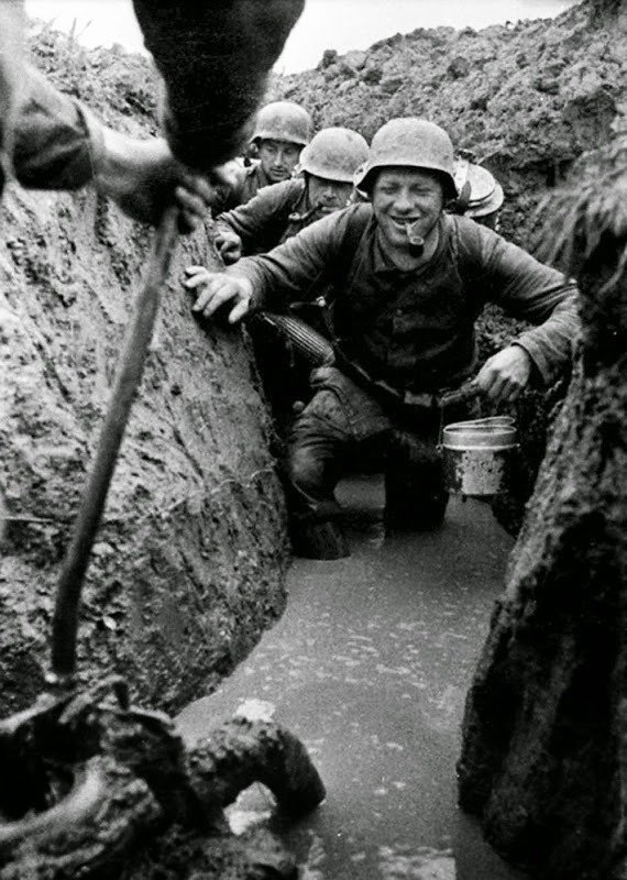 01. Flooded trenches
