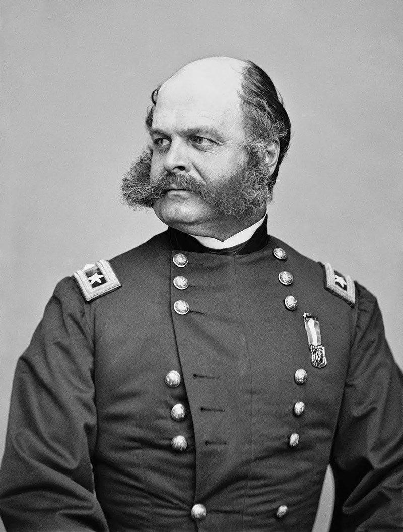 14. General Ambrose Burnside