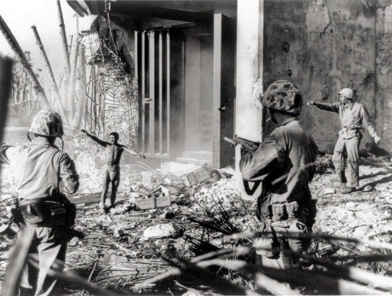 18. Soldiers Surrendering