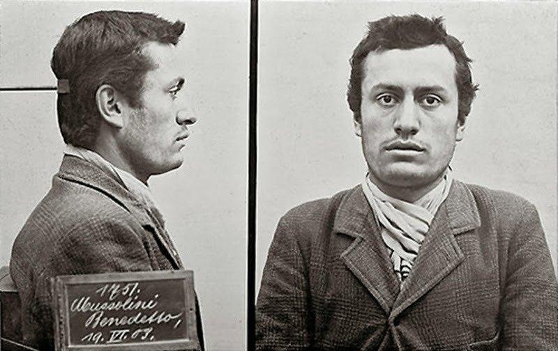 20. Benito Mussolini