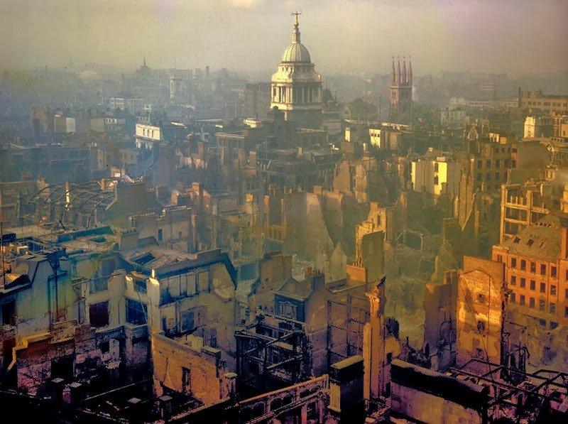 23. London after an Air Raid