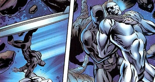 Black Panther SIlver Surfer