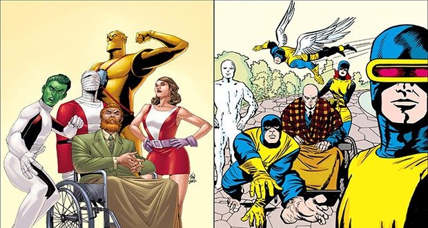 Doom Patrol vs X-Men