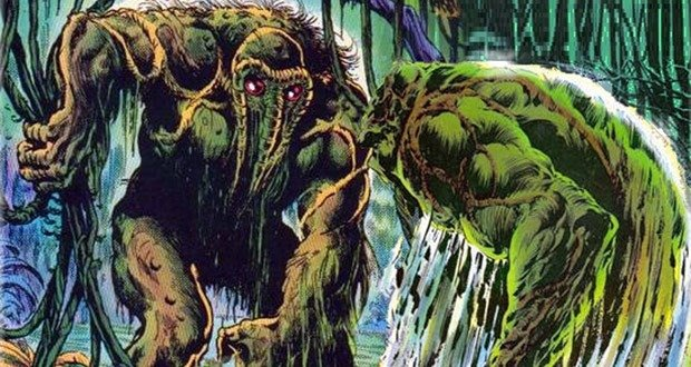 Man Thing vs Swamp Thing