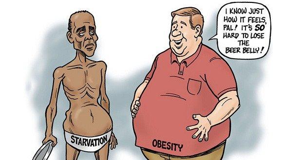 Starvation Obesity