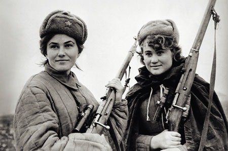 03. Female Soviet partisans