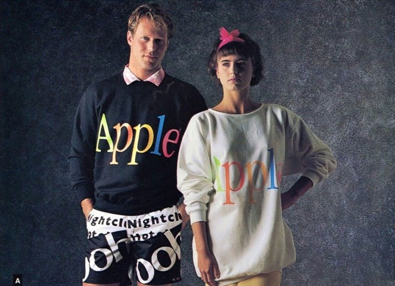 05. Apple's clothing line