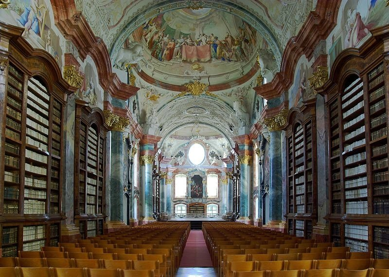 09. Altenburg Abbey Library