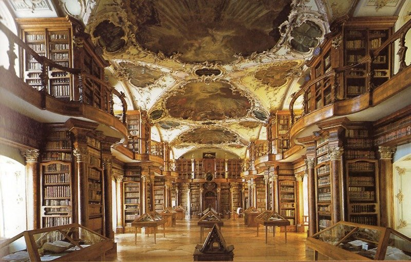 10. Abbey of St Gall Library
