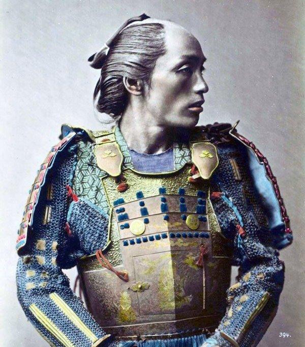 11. Samurai warrior