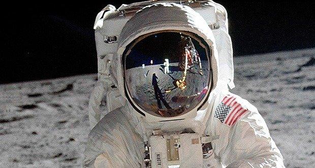 Astronaut's visors