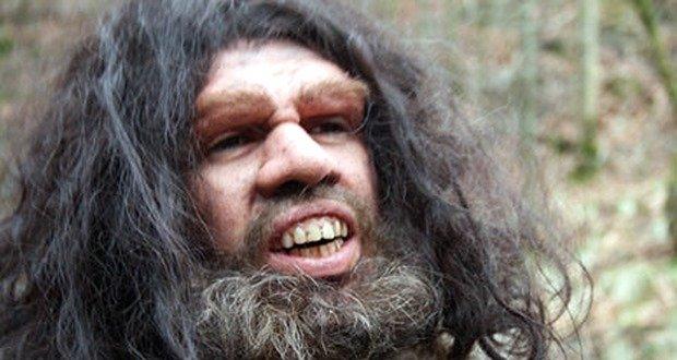Drama recon - Neanderthals had big faces and big teeth.