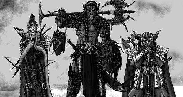 Elves, Dwarves, and Orcs