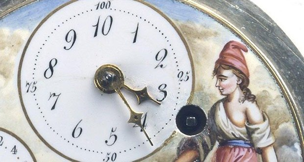 France Decimal Clock
