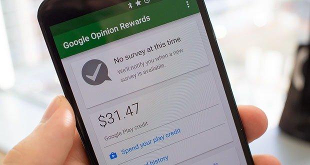 Google Opinion Surveys