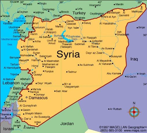 01. This here is Syria