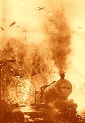 Train Blown