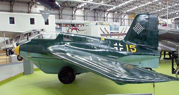 12. Messerschmitt Me 163 Komet