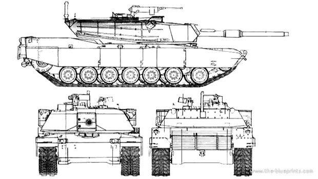 2-M1 Abrams 2