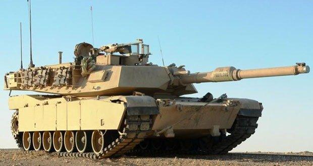 2-M1 Abrams