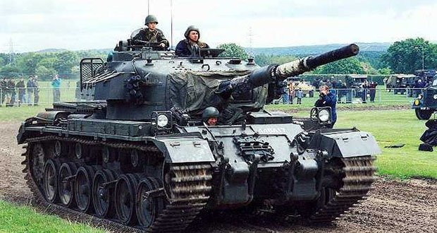5-Centurion tank