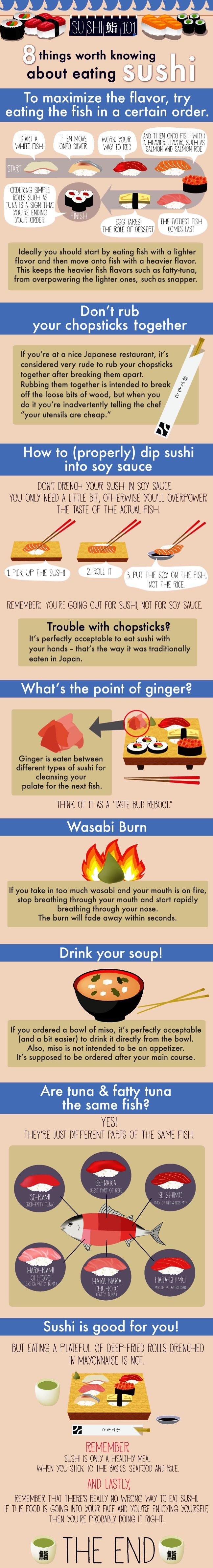 78 8 Things Worth Knowing About Eating Sushi