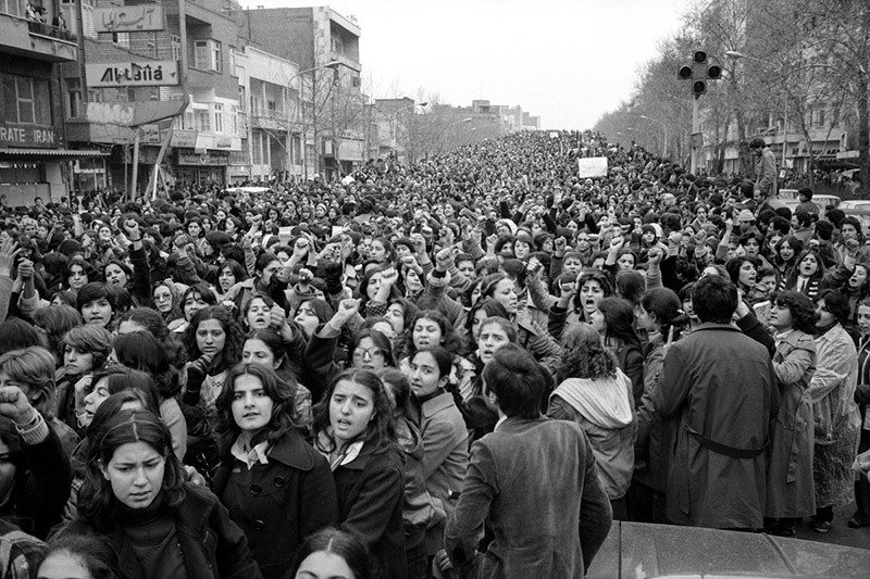 01. Protesting forced Hijab