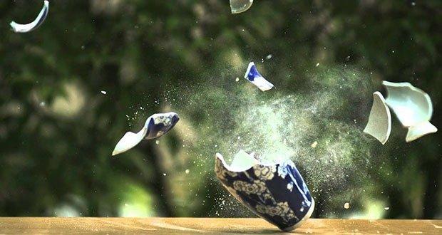 Breaking Vase