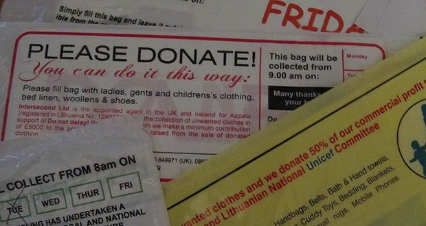 Charity Junk Mail