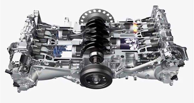 Horizontally opposed engines