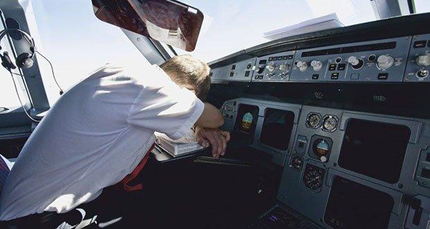 Sleeping pilot