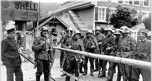 Swiss border guards