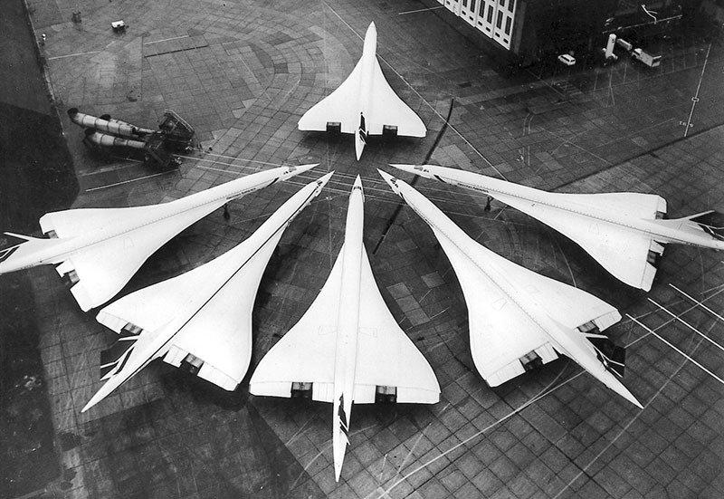 01. Concorde fleet