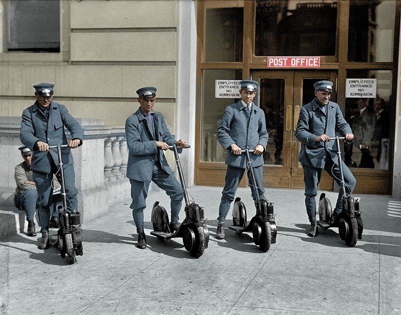 07. USPS Mailmen