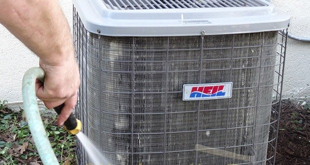 Cleaning Condenser
