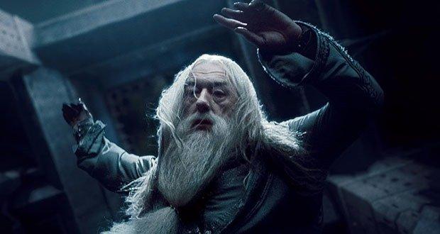 Dumbledore's fall
