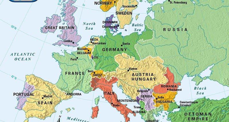 European Map 1