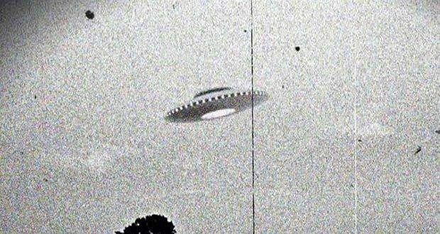 Grainy UFO