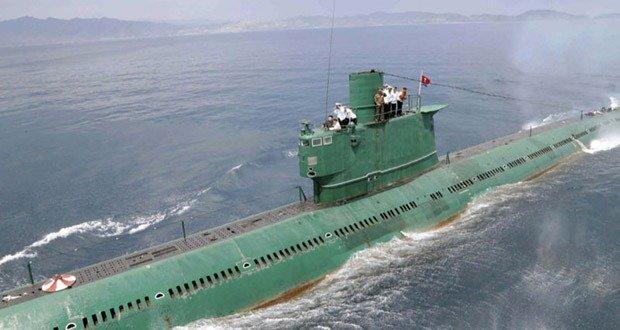 DPRK submarine fleet