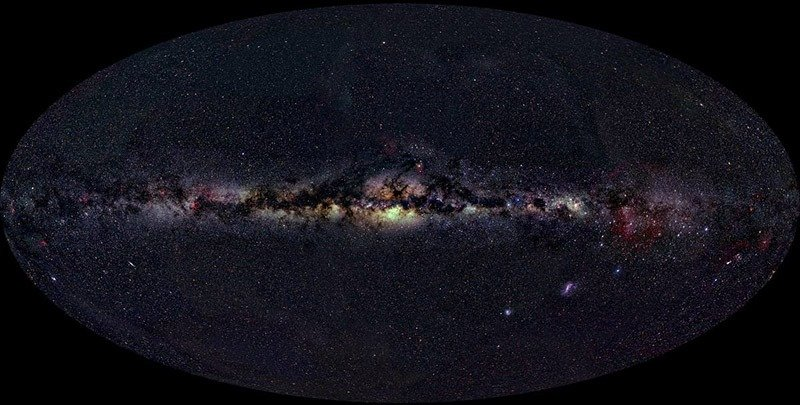Milky Way in Optical