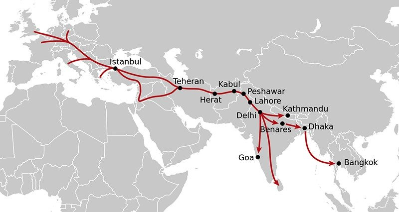 The Hippie Trail Small