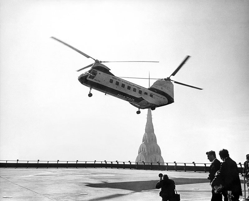 08. Helicopter Landing