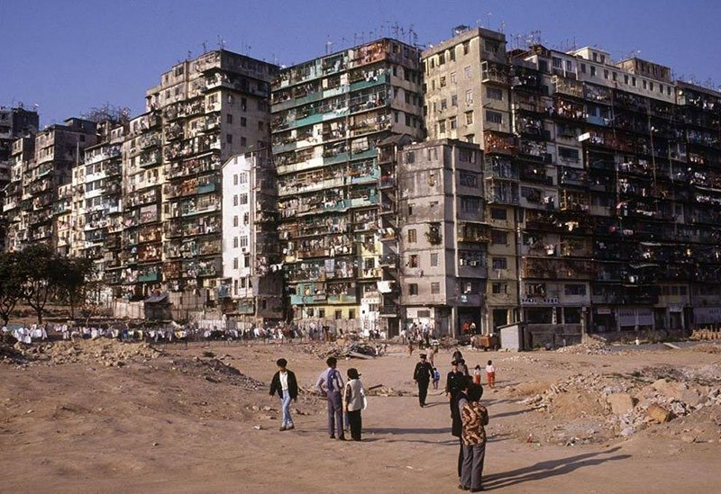 23. Kowloon Walled City