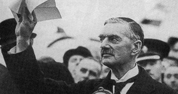 British Prime Minister Neville Chamberlain, WWII