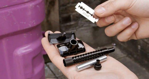 Disposable razor blades