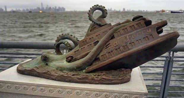 Octopus Attack Monument