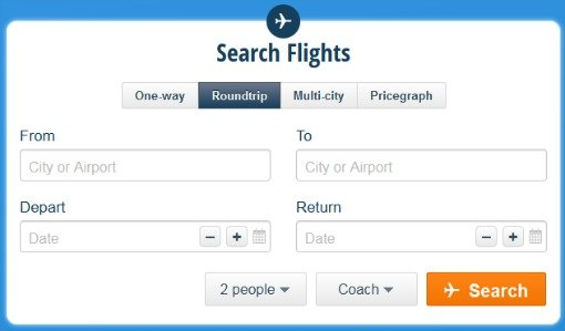 airfare search engine